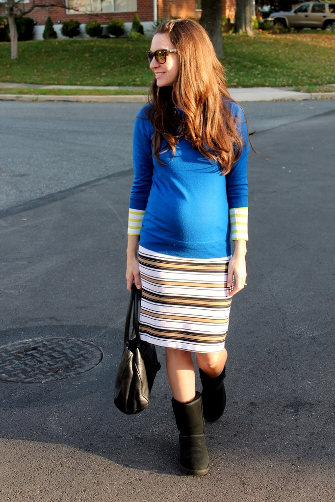 original uggs and skirt outfit