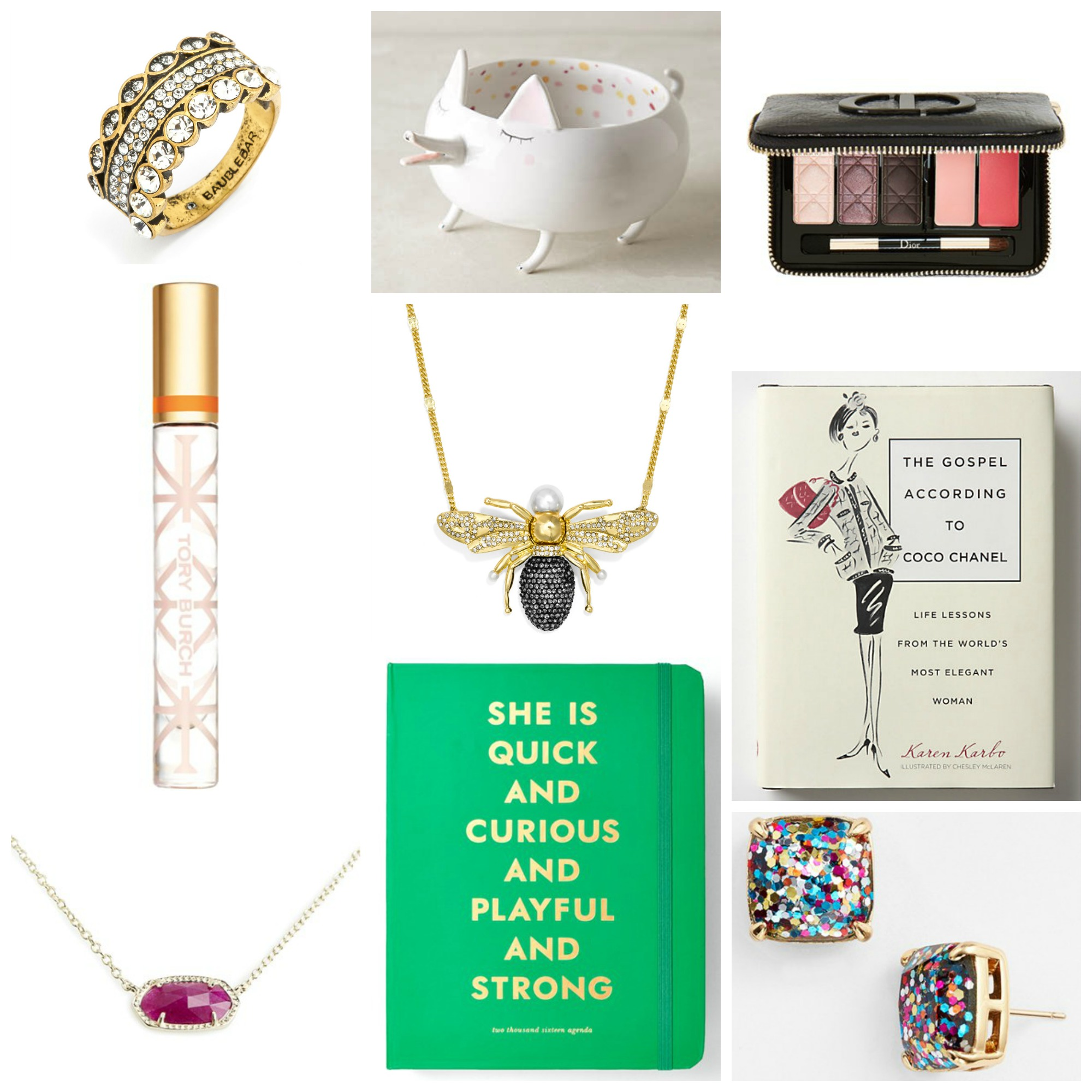 Holiday Gift Guide Glam 2015