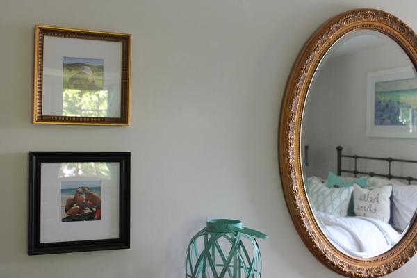 Bedroom Reveal with Framebridge