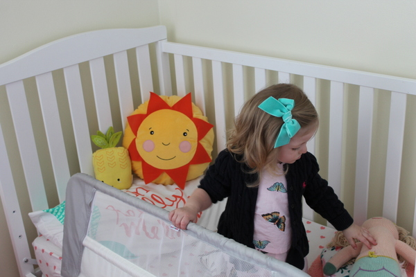Amelia's Toddler Room Reveal & Saranoni Giveaway!